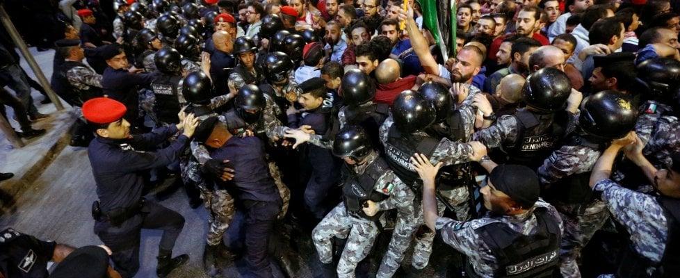 Manifestazioni e scontri per il carovita: la primavera calda della Giordania