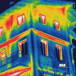 La disperzione termica di un edificio
