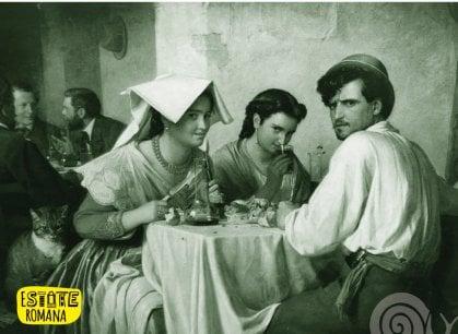 E per due giorni sull'Appia Antica va in scena la super Osteria