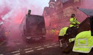 Roma, incidenti Liverpool: multa e divieto di trasferte per due gare. Mercato: Cristante vicinissimo