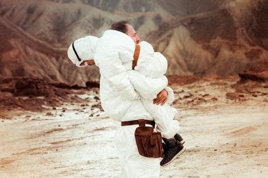 """'Tito e gli alieni': """"Con Mastandrea la fantascienza italiana tra Kubrick e Spielberg"""""""