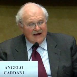 Il presidente AgCom, Cardani