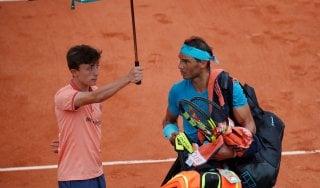 Tennis, Roland Garros: la pioggia salva Nadal, fuori Sharapova