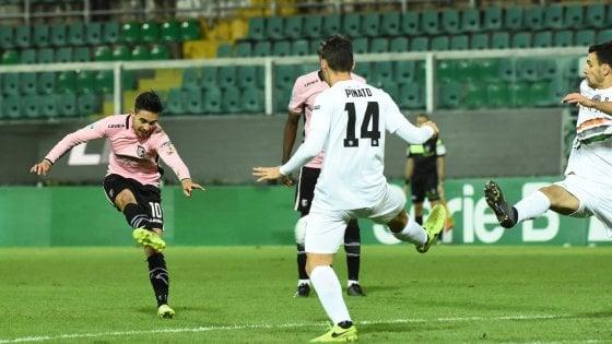 Playoff serie B, Venezia-Palermo 1-1: Marsura risponde a La Gumina