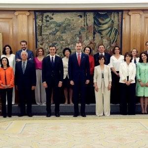 Spagna, ha giurato il governo dei record: mai tante donne in un esecutivo