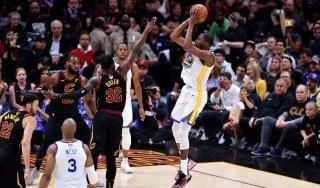 Basket, Finals Nba: Durant stende Cleveland, Golden State vede il titolo