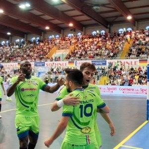 Calcio a 5, finali scudetto: Borja Blanco regala gara 4 alla Luparense