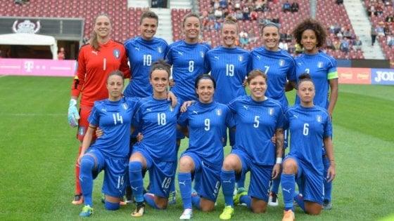 Calcio, l Italia delle donne va al mondiale