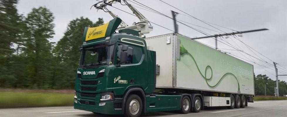 Autostrade, in Germania arrivano quelle elettrificate