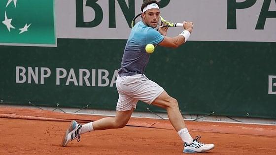 """Tennis, il sogno di Cecchinato: """"Voglio che il mio Roland Garros continui"""""""