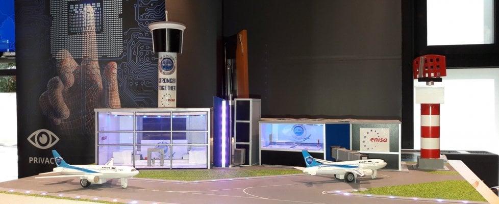 """""""Attacco informatico all'aeroporto, tutti i voli cancellati"""".  Ma è un'esercitazione"""