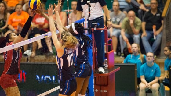 Volley, Nations League: quinta vittoria delle azzurre, dominicane al tappeto