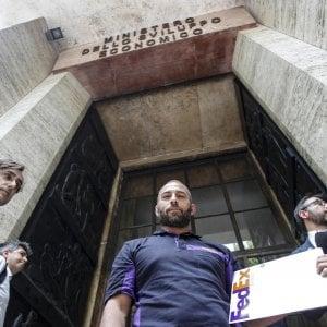 I lavoratori della Fedex ricevuti al ministero dello Sviluppo Economico