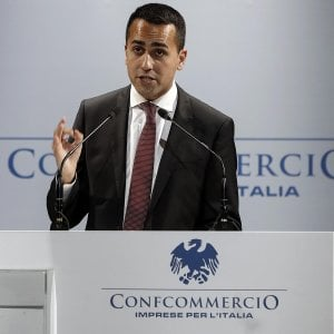 L'itervento del ministro dello Sviluppo Economico Di Maio all'Assemblea Annuale di Confcommercio, giovedì 7