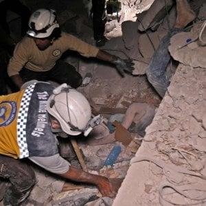 Siria, almeno 38 civili uccisi in raid russo (anche cinque bambini)