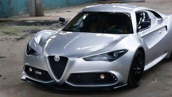 Alfa Romeo Mole Costruzione Artigianale 001, supercar si nasce