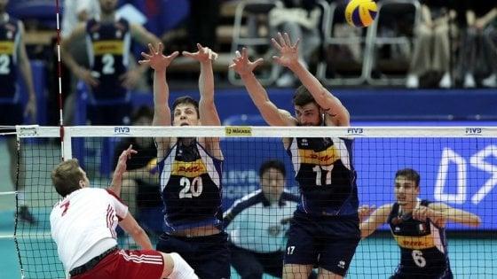 Volley, Nations League: azzurri ko al tie-break contro la Polonia