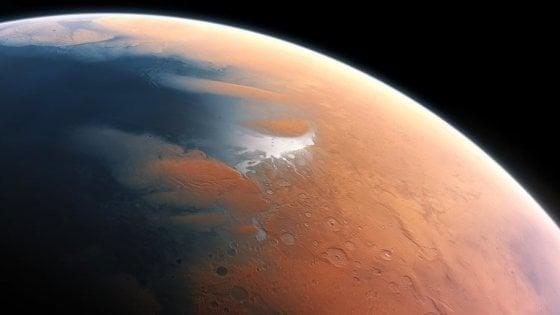 Marte da giovane? Un pianeta ghiacciato