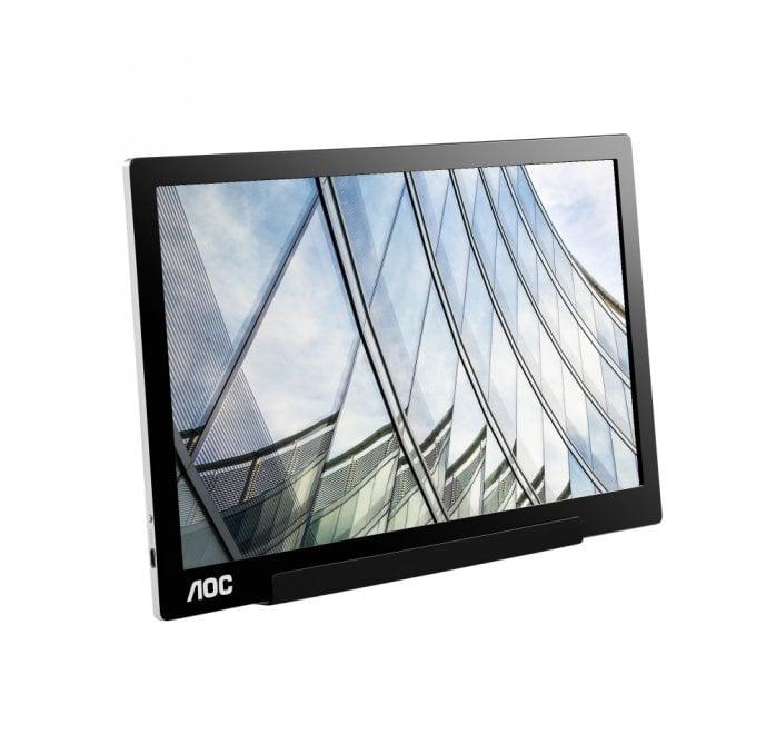 AOC lancia il nuovo display portatile, con tecnologia USB-C