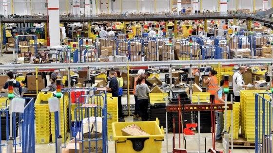 Amazon sfora i tetti sui somministrati, l'Ispettorato del lavoro chiede di assumere 1.300 persone