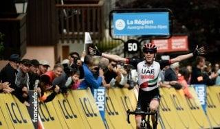 Ciclismo, Giro del Delfinato: quinta tappa a Daniel Martin, Thomas nuovo leader