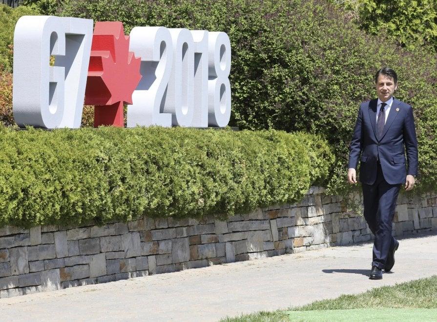 G7 Canada, i sette grandi tra passeggiate e incontri
