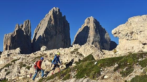 Alto Adige, Cadore, Austria. Nasce l'alta via sugli storici cammini della guerra