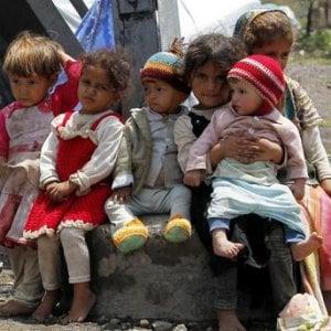 Yemen senza speranze, a rischio il 70% degli aiuti e decine di migiaia di bambini in pericolo di vita