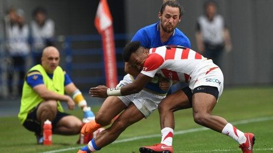Rugby, per l'Italia pesante sconfitta nel test-match contro il Giappone