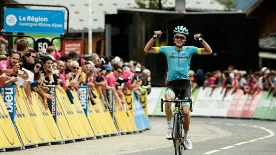 Ciclismo, Delfinato: Bilbao vince in salita. Thomas sempre più leader, male Nibali