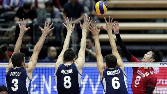 Volley, Nations League: gli azzurri cedono al tie-break al Giappone padrone di casa