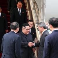 Vertice Usa-Nord Corea, Kim a Singapore