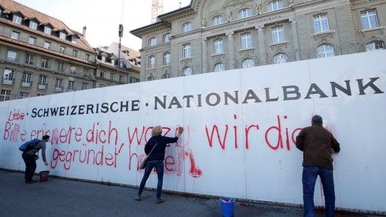 Svizzera, bocciata al referendum la moneta sovrana