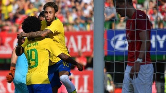Per Goldman Sachs, Brasile vincerà i Mondiali 2018