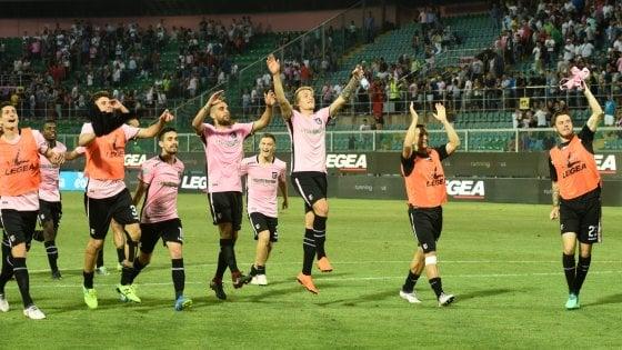 Serie B, playoff: Palermo-Venezia 1-0, rosanero in finale