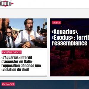 """Salvini e """"le vite nel limbo"""" dell'Aquarius raccontati dalla stampa internazionale"""