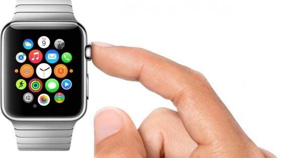 Il nuovo Apple Watch non avrà più bottoni fisici
