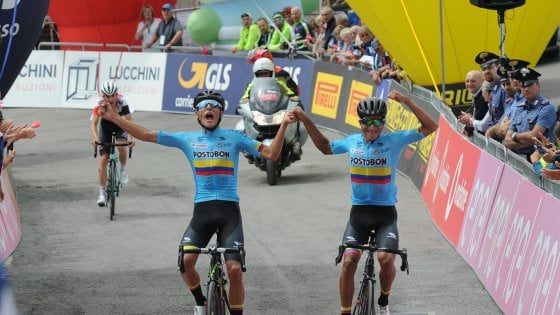 Giro d'Italia U23: Osorio svetta sul Passo Maniva, la maglia rosa è sua