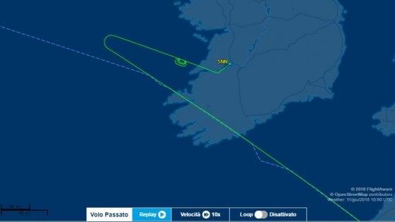 Volo Roma-Chicago deviato in Irlanda: appunti su una bomba