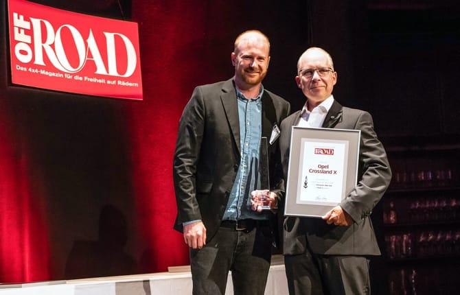 Opel Grandland X vince l'Off Road Award 2018