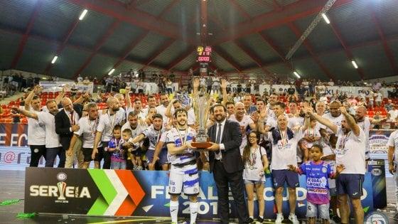 Calcio a 5, finali scudetto: l'Acqua&Sapone è campione d'Italia