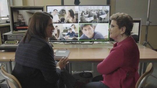 Roberto Saviano e Mara Maionchi, ecco che succede se 'Il supplente' è famoso
