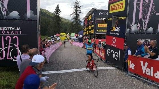 Giro d'Italia U23: a Rubio la quinta tappa. Williams indossa la maglia rosa
