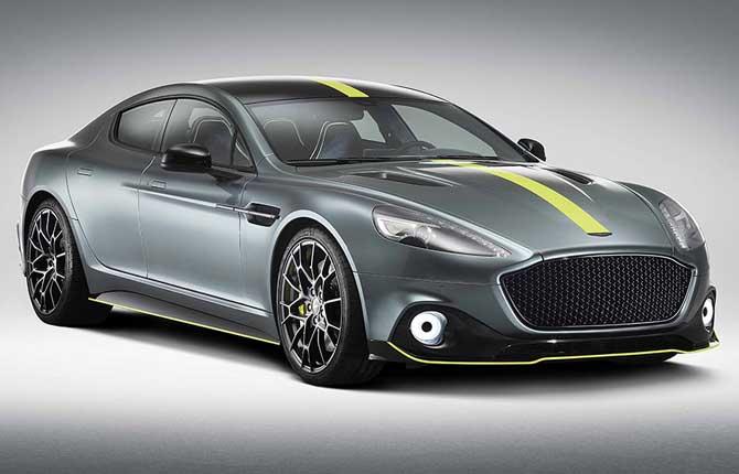 Aston Martin Rapide AMR, nata per la pista