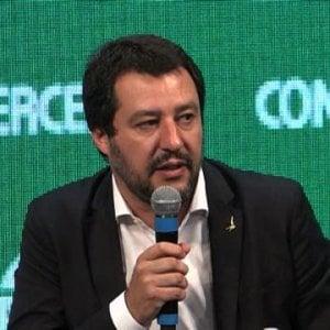"""Stadio Roma, Salvini difende il costruttore che finanziava la Lega: """"Parnasi persona perbene"""""""