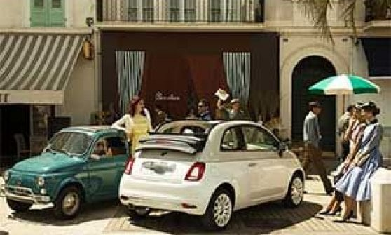 """Alle stelle il progetto """"The Fiat 500 Forever Young Experience"""""""
