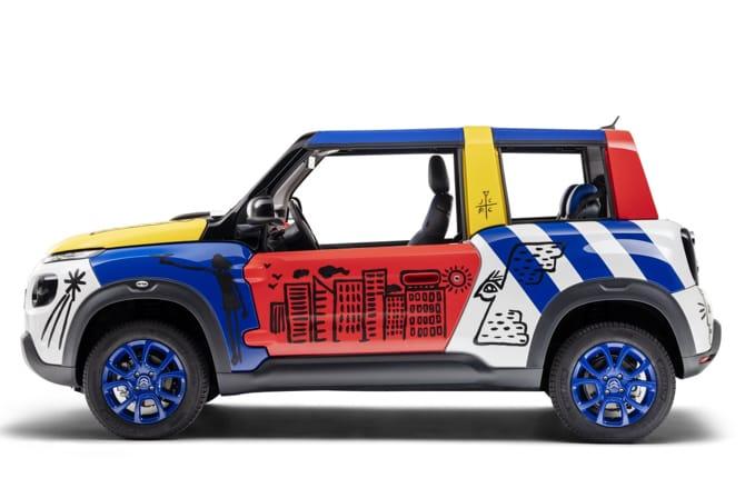 Art Car E-Mehari, 50 anni di libertà