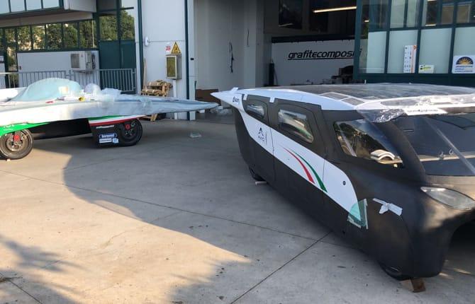Emilia 4, l'auto solare tutta italiana
