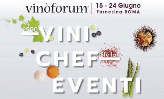 Dieci giorni ad alto tasso gourmet: a Roma torna il Vinòforum 2018