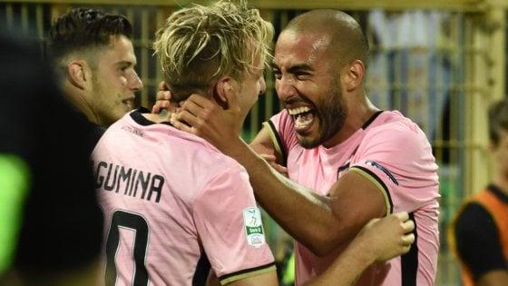 Serie B, finale playoff: Palermo a un passo dalla A, Frosinone battuto 2-1